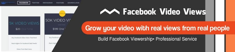 Get Facebook Video Views