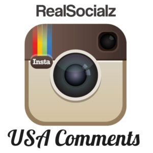 Instagram comments with RealSocialz